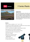 Model F Series - Plastic Filter Brochure