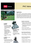 Model A-216B and A-217B - PVC Valves Brochure