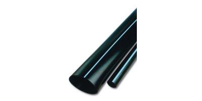 Blue Stripe - Oval Hose Polyethylene Tubing