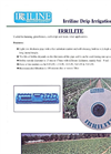 Irrilite - Tape with Drippers- Brochure