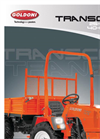 Transcar - Model 25 SN/RS - Transcar  Brochure