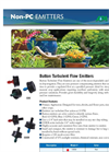 Turbulent Flow Button Emitters Brochure