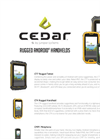 Cedar Tree Rugged handhelds System Brochure