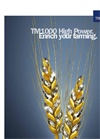 Model TM1000 - High Power Tractor Tires Brochure