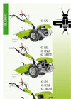 Model G 55 - Walking Tractors– Brochure