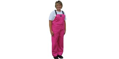 Pink Waterproof Bibbed Overalls