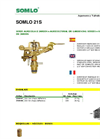 SOMLO - Model 21S - Sectoral Brass Sprinkler Brochure