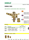 SOMLO - Model 26S - Sectoral Brass Sprinkler Brochure