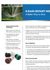 Rotary Nozzles - Fixed Pattern Brochure