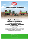 Model DST - Universal Spreaders Brochure
