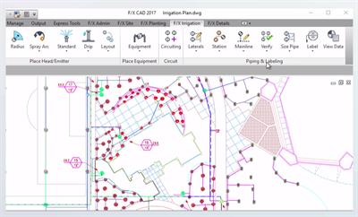 Version F/X - Irrigation Design Software