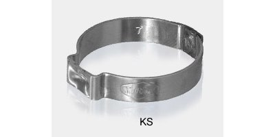 Model SAE Type J (KS) - Keystone Pinch Clamp