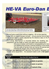 Euro-Dan Eco - Trailed Seedbed Harrow Brochure