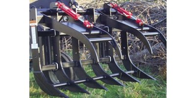 Model FLGR - Split Top Grapple Rake