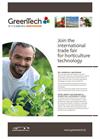 GreenTech Amsterdam- 2014- Brochure