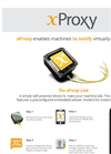 x Proxy - Self Powered Device Brochure