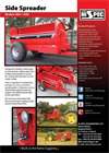 Side Spreaders Brochure