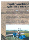 Sandy Loam - Model 32S - Rotary Spader Brochure
