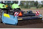 sand - Sandy loam  - Model 48SX series - Rotary Spading Machines