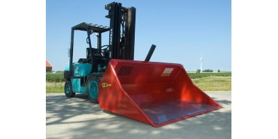 Model HOD - Fork Mounted Loading Bucket