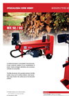 Hobby - Model ECO 80 - 8 Ton - Vertical Woodsplitters Brochure