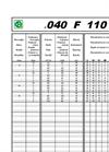 RAIN-SKY - Model AAA 40 F 110 / Ø40 - Hose Reel Irrigators Brochure