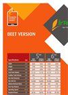 Sugar Beet Pneumatic Precision Planter Brochure