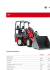 Weidemann - Model 1140 - Multifunctional Hoftrac - Brochure