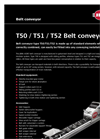 Model T50/T51/T52 - Belt Conveyor Brochure