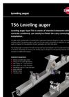 Model T56, 45-150 - Levelling Auger Brochure
