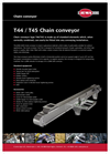 Model T44/T45 - Chain Conveyor Brochure