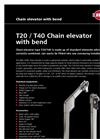Model T20 / T40 - Chain Elevator with Bend Brochure