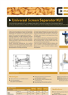 Universal Screen Grader and Cleaner-KUT Series