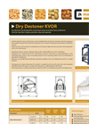 Model KVOR - Dry Destoners Brochure