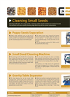 Model KUTR - Small Seeds Cleaner Cleaner
