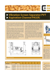 Vibration Grader / Cleaner PVT- Brochure