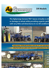 AgSynergy - Model DR Series - Toolbars   Brochure