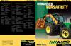 VERSA - Mid Mount Boom Mowers Brochure