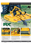Model RX84 - Rotary Mowers Brochure