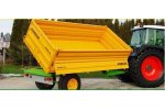 Model TRANS-EX Series - Agricultural Tipping Trailers