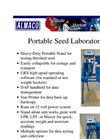 Lab - Portable Seed Equipment- Brochure