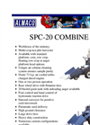 Model SPC20 - Specialized Plot Combine Brochure