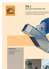 Zanin - Model PA-I - Inclined Aspiration Grain Unit - Brochure