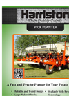 Harriston - Pick Planter - Brochure