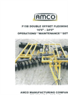 Model F15 - Folding Disc Harrows Brochure