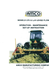 Model LF6 - Levee Plows Brochure