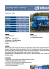 JOCKEY - Model 600 - Seeders Brochure