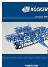 ALLROUNDER - Model 600/750 - Tillage Harrow Brochure
