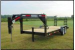 Model GEQ7166T - Gooseneck Trailer