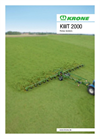 Model KWT 2000 - Trailed Rotary Tedders Brochure